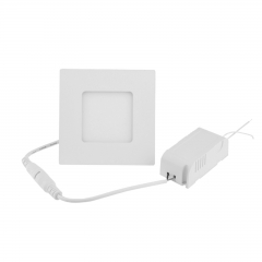 Ranpo LED Panel Light Square 3W Warm Cool White Downlight with LED Driver AC 85-265V