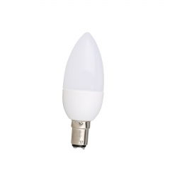 RANPO B15 3W 220V LED Chandelier Candle Light Bulb Lamp Warm/Cool /Natrual White 2835 SMD