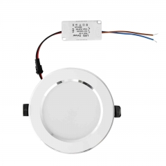 RANPO Dimmable 15W LED Recessed Ceiling Flat Panel Down Light Ultra Slim Bulb Lamps AC 110V/220V