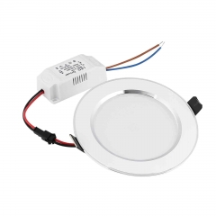 9W LED Recessed Ceiling Flat Panel Down Light Ultra Slim Bulb Lamps AC 85-265V