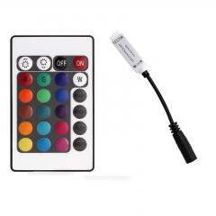 Ranpo Mini 24 Key IR Remote Controller