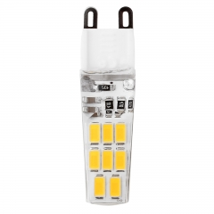 6W G9 5733 16SMD LED Lights Silicone Crystal Lamps Cool Warm White Bulbs 220V