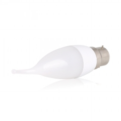 RANPO 3W B22 LED Flame Candle SMD2835 Warm/Cool/Natural White Light Lamp Bulbs AC 85-265V