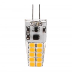 G4 8W 2835SMD Silicone Crystal LED Corn Bulb SpotLight Bright Lamp Warm Cool Natural White DC/AC 12V