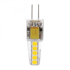 G4 6W 2835SMD Silicone Crystal LED Corn Bulb SpotLight Bright Lamp Warm Cool Natural White DC/AC 12V