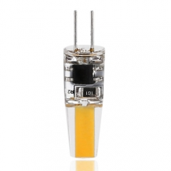 RANPO Ultra Bright 3W G4 1505SMD Silicone Crystal LED Corn Bulb SpotLight Lamp Cool Warm White DC 12V