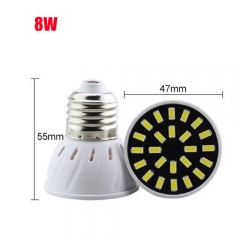 RANPO 8W E27 32LEDs LED Light Bulb 110V 220V SMD5733 Lamp Spotligh Cool Warm White