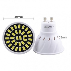 RANPO 4W 18LEDs GU10 LED Light Bulb 110V 220V SMD5733 Lamp Spotligh Cool Warm White