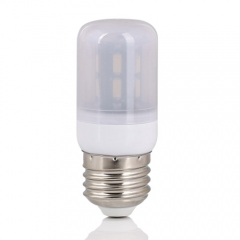 RANPO E26 24W 42LEDs LED Corn Bulb 7030 SMD Light Lamp Milky White Cool Warm White AC 110V