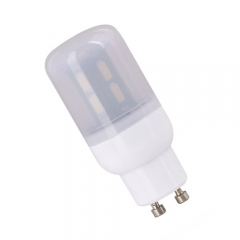 RANPO GU10 15W 28LEDs LED Corn Bulb 7030 SMD Light Lamp Milky White Cool Warm White AC 110V 220V