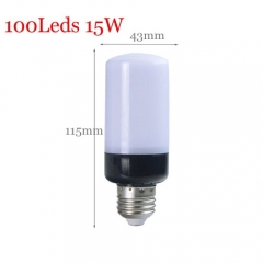 RANPO 15W E27 100LEDs Lamp Lighting 5736 SMD AC 110V 220V Corn Light Power Lampada Power Indoor Lighting