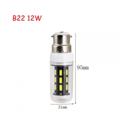 RANPO 12W B22 22leds LED Corn Bulb 7030 SMD Lights Cool Warm White AC 220V Lamp
