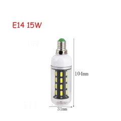 RANPO 15W E14 28leds LED Corn Bulb 7030 SMD Lights Cool Warm White AC 220V Lamp