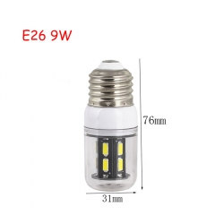 RANPO 9W E26 15leds LED Corn Bulb 7030 SMD Lights Cool Warm White AC 110V Lamp