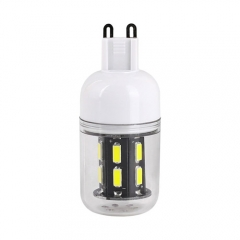 RANPO 9W G9 15leds LED Corn Bulb 7030 SMD Lights Cool Warm White AC 110V 220V Lamp