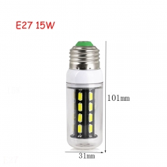 RANPO 15W E27 28leds LED Corn Bulb 7030 SMD Lights Cool Warm White AC 110V 220V Lamp
