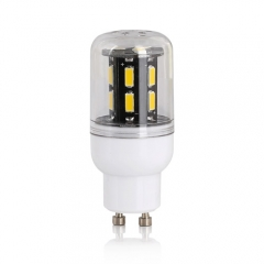 RANPO 9W GU10 15leds LED Corn Bulb 7030 SMD Lights Cool Warm White AC 110V 220V Lamp