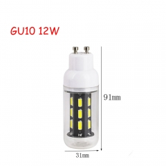 RANPO 12W GU10 22leds LED Corn Bulb 7030 SMD Lights Cool Warm White AC 110V 220V Lamp