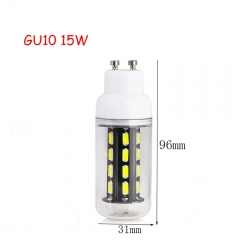 RANPO 15W GU10 28leds LED Corn Bulb 7030 SMD Lights Cool Warm White AC 110V 220V Lamp
