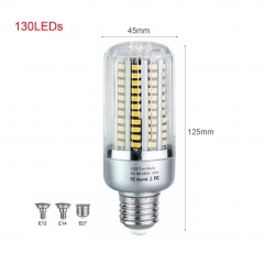 RANPO 25W E12 130leds LED Corn Bulb Light 85-265V Aluminum PCB Bombillas Cool Warm White