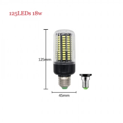 RANPO 18W E14 SMD 5736 Bombillas LED Bulb Lamparas LED Light 125LEDs Cool Warm White AC 85-265V