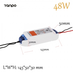 Ranpo 48W 4A LED Driver Adapter AC 90-240V To DC 12V Transformer Power Supply For LED Strip