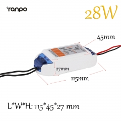 Ranpo 28W 2.3A LED Driver Adapter AC 90-240V To DC 12V Transformer Power Supply For LED Strip
