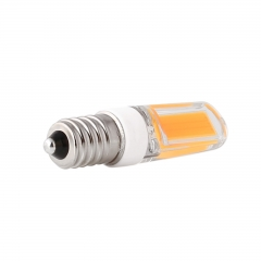 RANPO E14 9W Dimmable LED COB Silicone Crystal Corn Bulb SpotLight Lamp Cool Warm White 220V