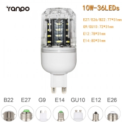 RANPO 10W G9 36leds LED Corn Bulb 4014 SMD Light Cool Warm White Lamp 110V 220V