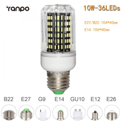 RANPO 10W E27 36leds LED Corn Bulb 4014 SMD Light Cool Warm White Lamp 110V 220V