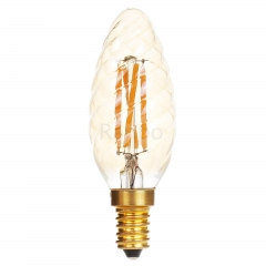 RANPO C35 E14 4W LED Light Bulb Lamp Vintage Retro Filament Edison Antique Bulbs 220V