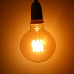 RANPO G95 LED Bullb E27 4W LED Light Bulb Lamp Vintage Retro Filament Edison Antique Dimmable Bulbs 220V