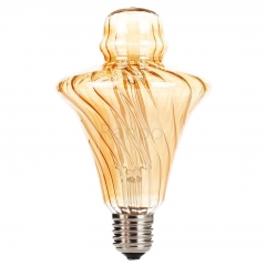 RANPO Straw Hat Shape Bullb E27 4W LED Light Bulb Lamp Vintage Retro Filament Edison Antique Dimmable Bulbs 220V