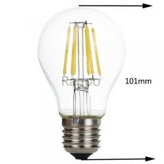 RANPO E27 6W Vintage Retro Light Bulb Filament Industrial Lamp Mid Century
