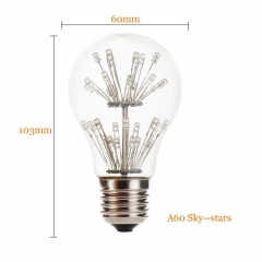 RANPO 2W E27 LED Bulb Light Lamp 220V Vintage Retro Filament Edison Antique Bulbs