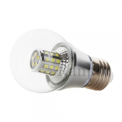7W E27 Silver Shell LED Bulb Globe Light Halogen Lamp Replacement  85-265V