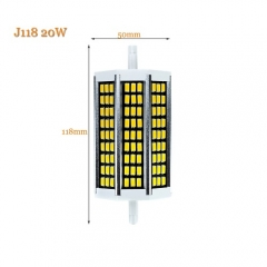 RANPO 20W J118 R7S Led Lamp 5730SMD Horizontal Plug Light Halogen Floodlight
