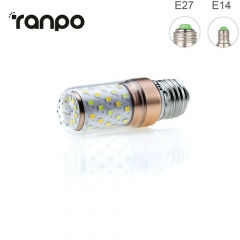 RANPO 8W E27 3 Colors LED Corn Bulb Candle Light 2835 SMD White Lamp