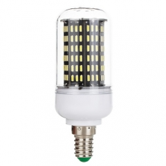 E14 45W Dimmable Smart IC LED Corn Light Bulb Lamp 4014 SMD AC 220V
