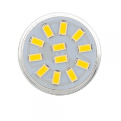 RANPO 3W MR11 LED Bulbs Spotlight White 5733 SMD Halogen Lamp Replacement 12-24V