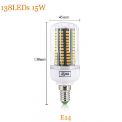 RANPO 15W E14 Dimmable Smart IC SMD 5733 Led Lamp 220V Led Light Corn Bulb