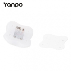 Ranpo Battery Human Body Motion Sensor LED Lamp Wall Night Light Hallway Four Leaf Clover Bulb