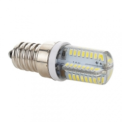 RANPO 5W Dimmable E14 LED Silicon Corn Bulb 3014 SMD Lamp 220V