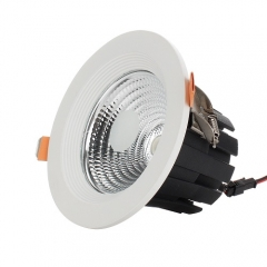 RANPO 7W LED Recessed Ceiling Downlight Bulb Round Lamp AC100-265V