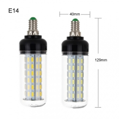 RANPO 40W E14 LED Corn Bulb Light 7030 SMD Lamp AC110-265V Cool Warm White