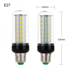 RANPO 40W E27 LED Corn Bulb Light 7030 SMD Lamp AC110-265V Cool Warm White