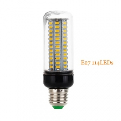 RANPO E27 LED Corn Bulb Lamp Light 5730 SMD 114LEDs 30W Bright 110V 220V