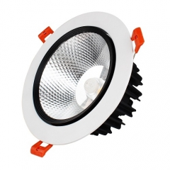 RANPO 10W LED Ceiling Light Recessed Downlight Lamp 85-265V Equivalent