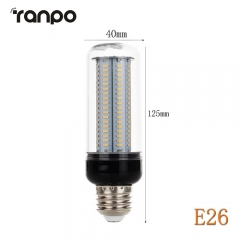 RANPO E26 30W LED Corn Bulb 4014 SMD Light White Lighting Lamp Ultra Bright