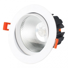 RANPO 3W LED Recessed Ceiling Downlight Bulb COB Spotlight 85-265V Panel Light